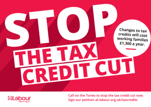 Stop the Tax Credit Cut